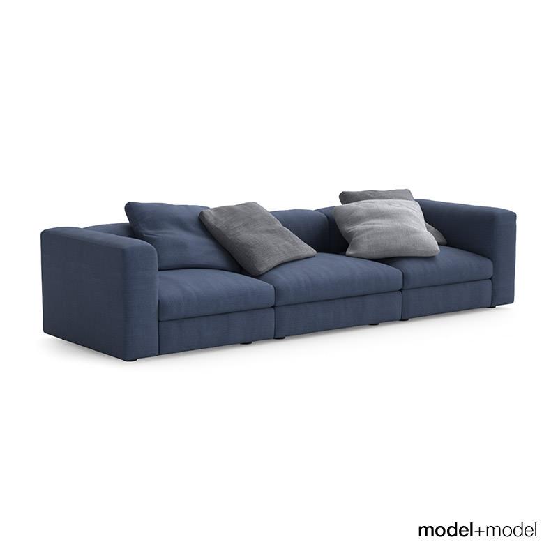 Poliform Dune Sofas Model Max Obj Mtl Fbx 3