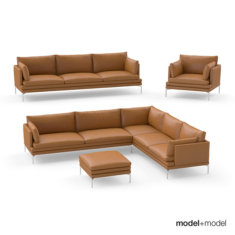 Zanotta William Sofas 3d Model Max Obj Fbx Cgtrader Com