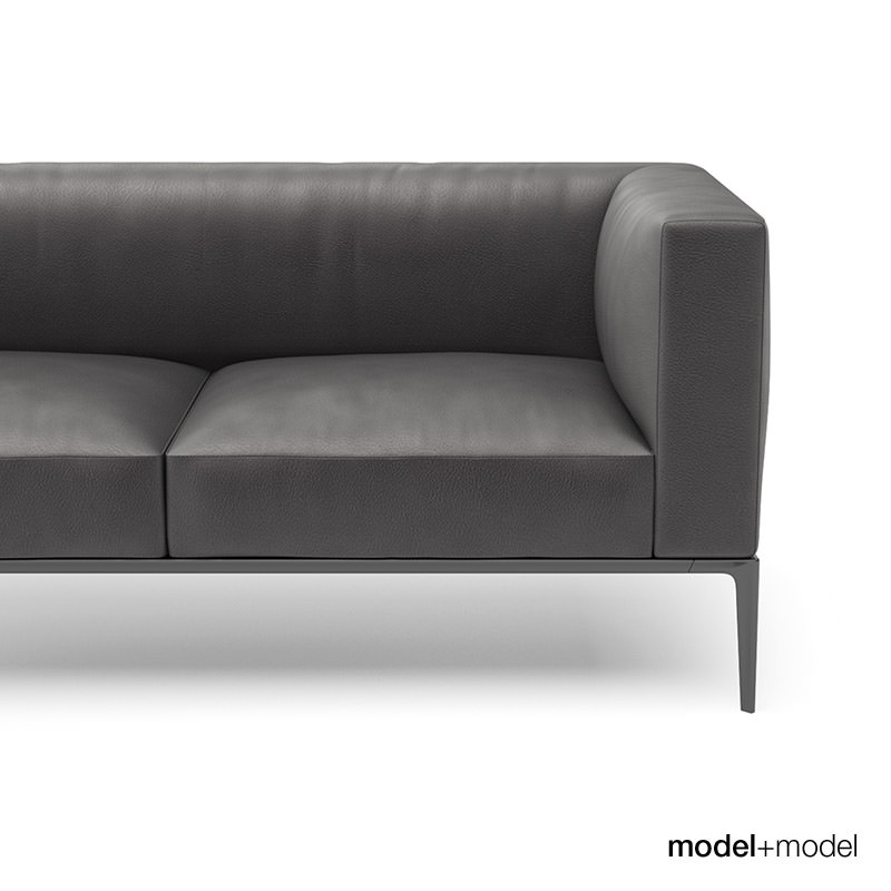 walter knoll jaan sofas 3d model. Black Bedroom Furniture Sets. Home Design Ideas