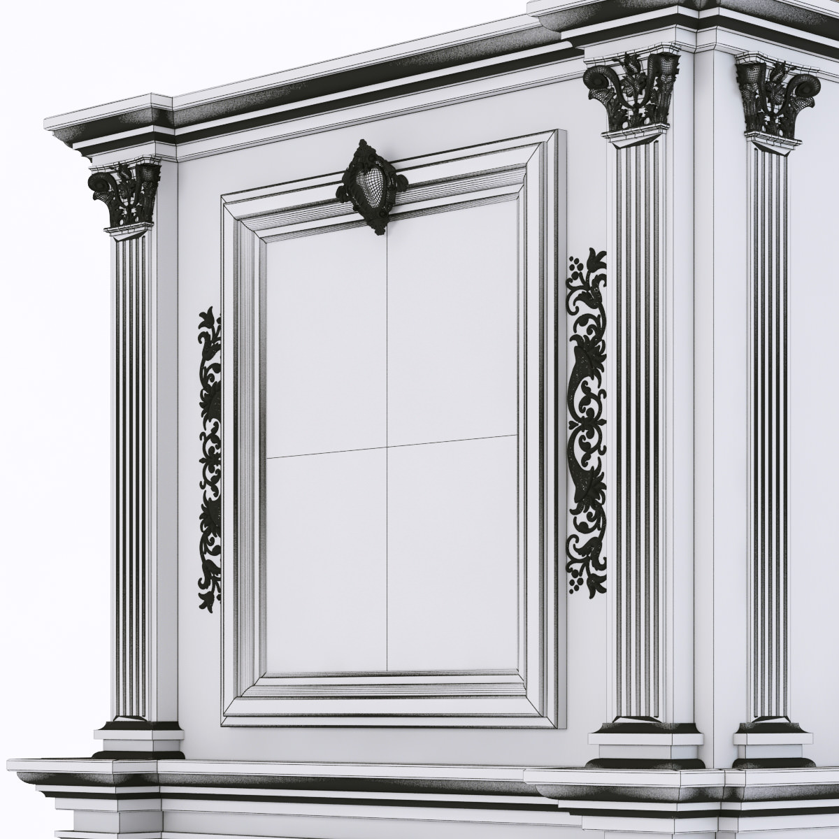 insects in kitchen cabinets marble fireplace 3d models cgtrader 4698