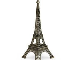 3d model mini eiffel tower