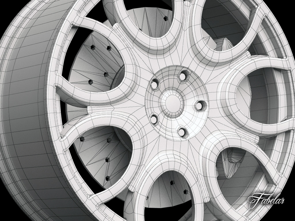 ... 3ds Max. Everything from modeling the spokes, using symmetry