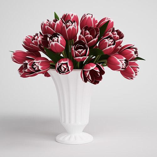 cgaxis flower 3d model max obj mtl fbx c4d 1