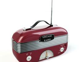 3D Vintage Radio