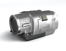 electronic appliance digital camera 3d model obj