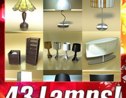3D 43 Lamps Mega Pack