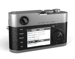 Hand Held Camera With Lens 3D Model