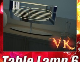Modern Table Lamp 06 Maserati 3D Model