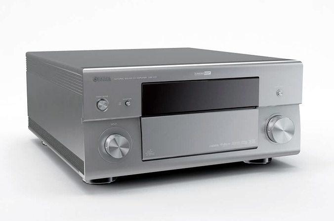 audio electronic stereo 3d model obj 1
