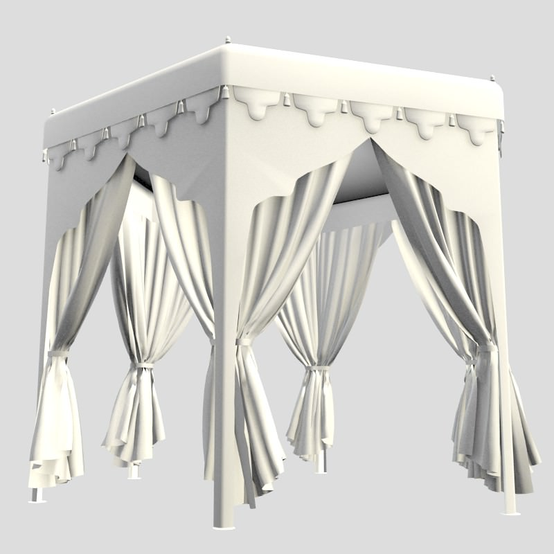 Arabian Tent 2 3d Models Cgtrader Com
