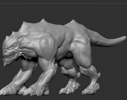 3D model Beast