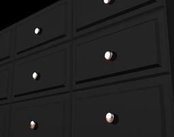 Modern Dresser 3D Model