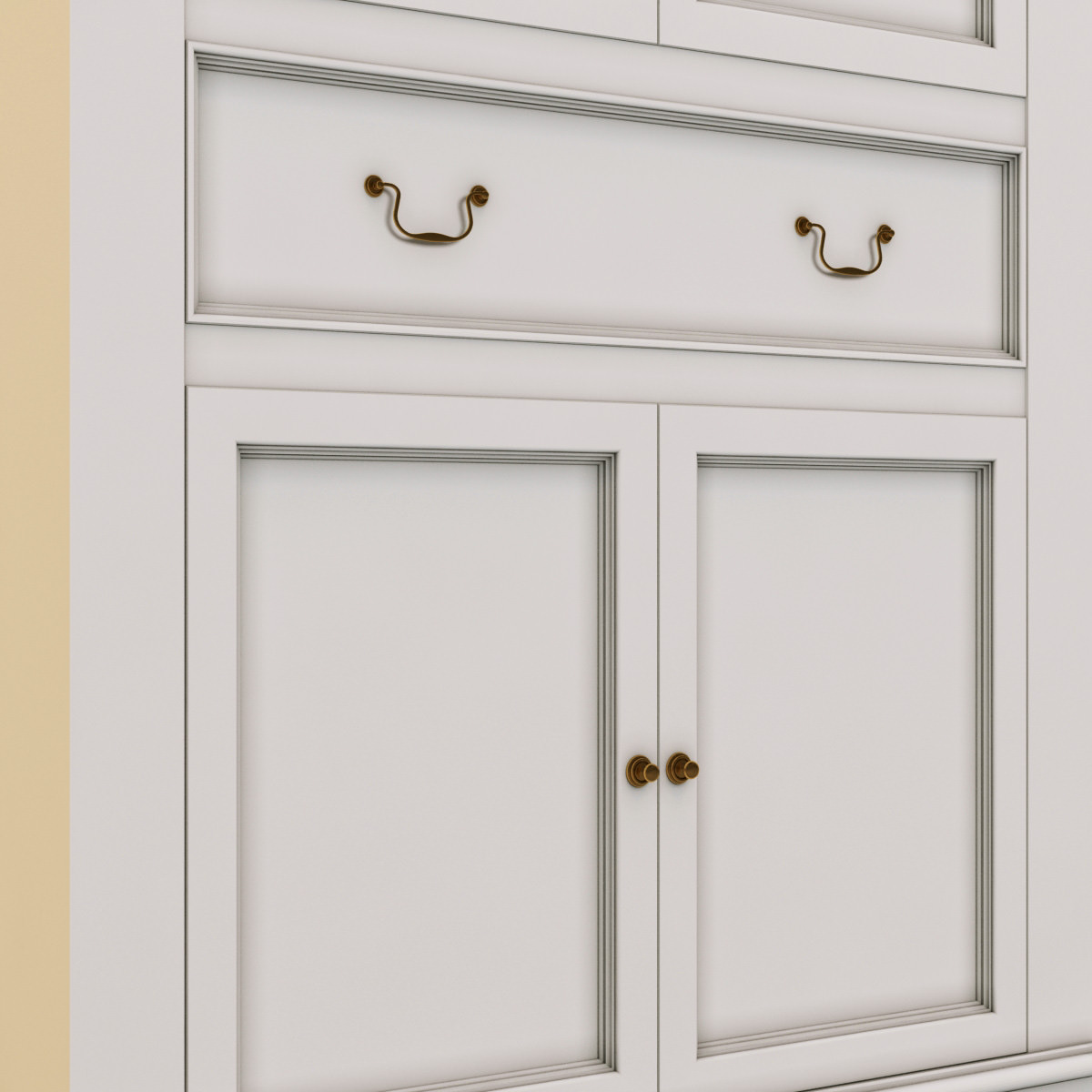 laura ashley cabinet furniture cabinets storage 3d models