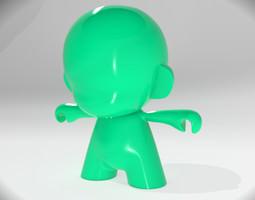 Munny toy 3D