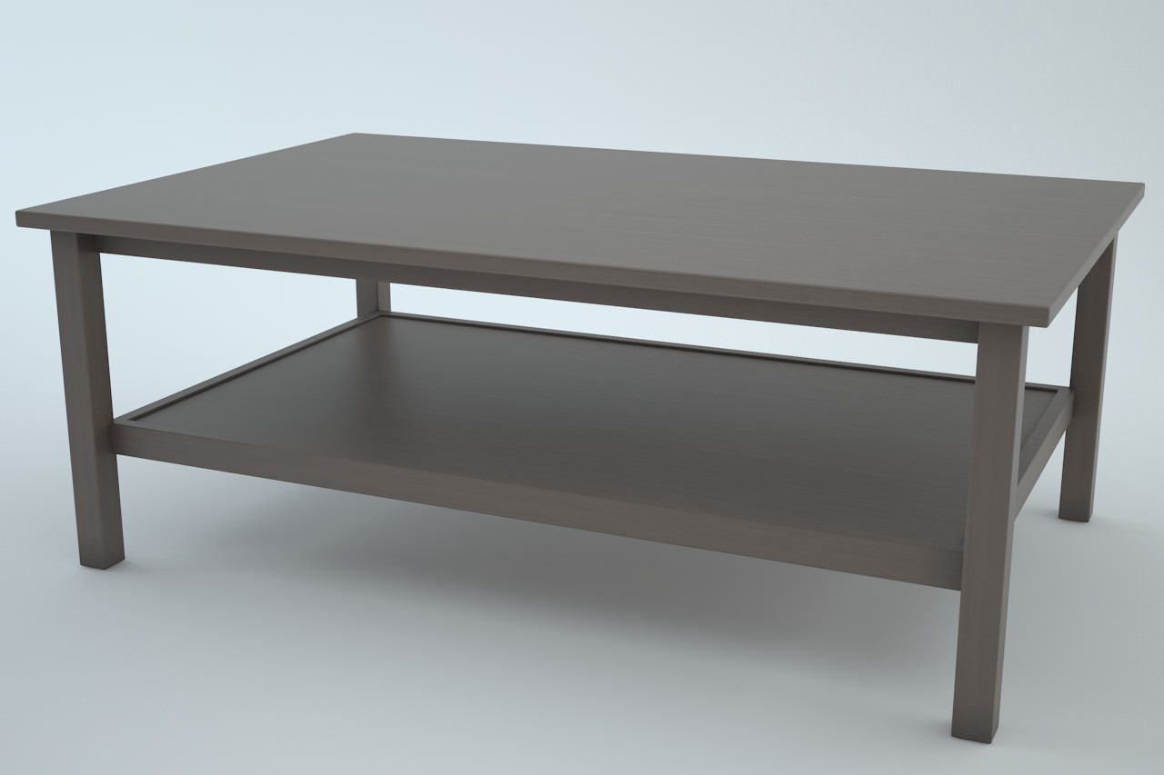 Ikea Hemnes Coffee Table 3 In1 3d Models