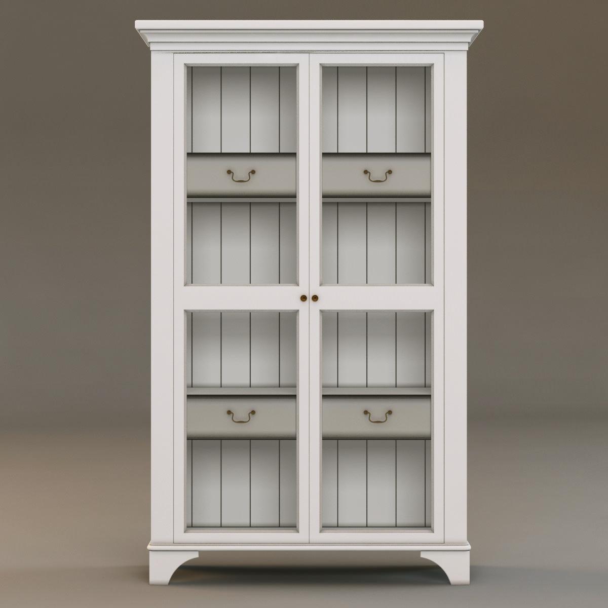 laura ashley cabinet 2 3d models