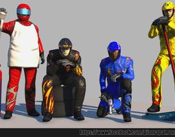 Pit Crew 3D Model
