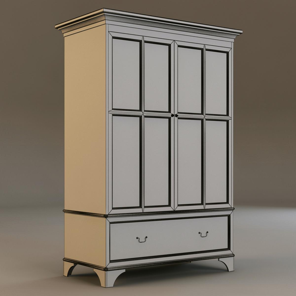 laura ashley cabinet 3 3d models