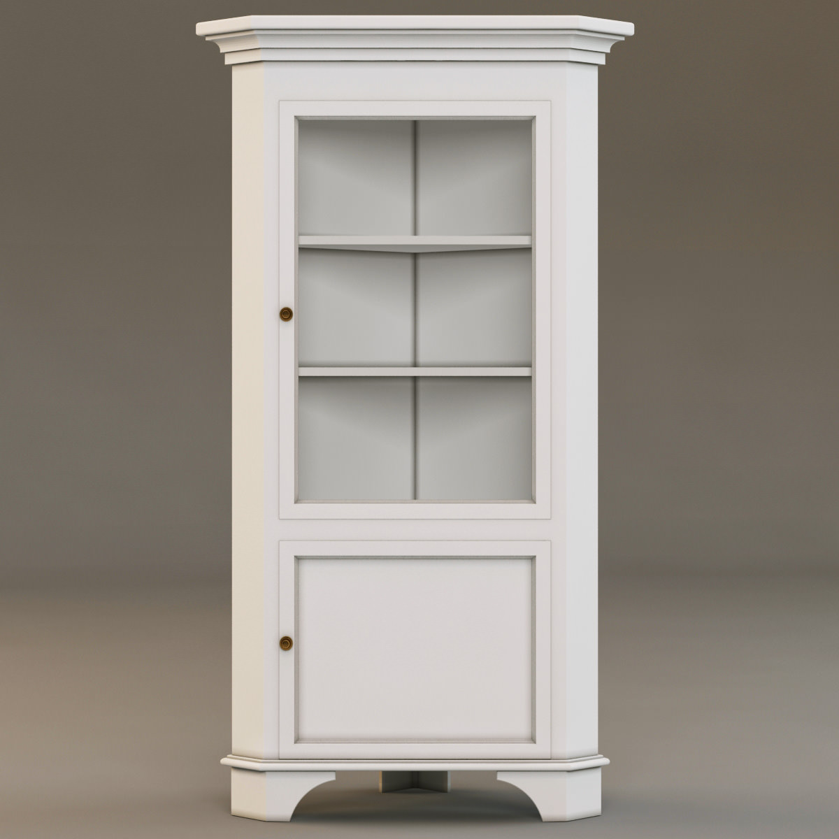 laura ashley corner cabinet 3d models