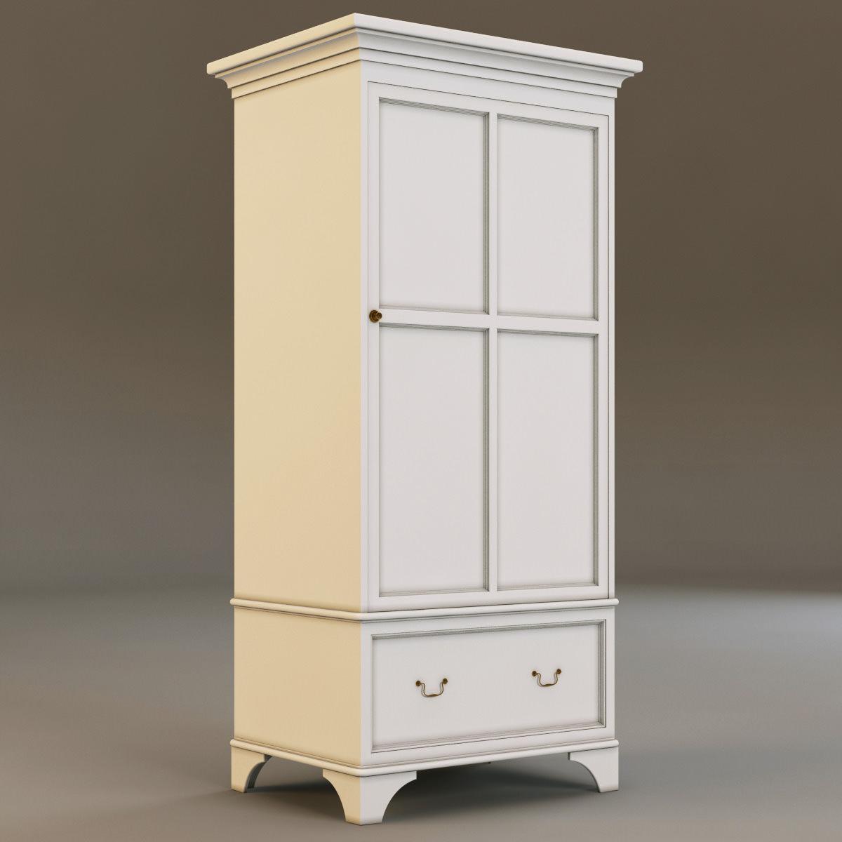 laura ashley cabinet 4 3d models