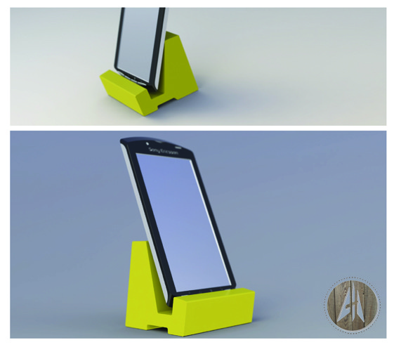 Phone Stand3D model