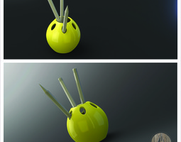 Grid_pen_holder_3d_model_stl_e717a208-bb76-45e8-af59-fd7ec4e5c291