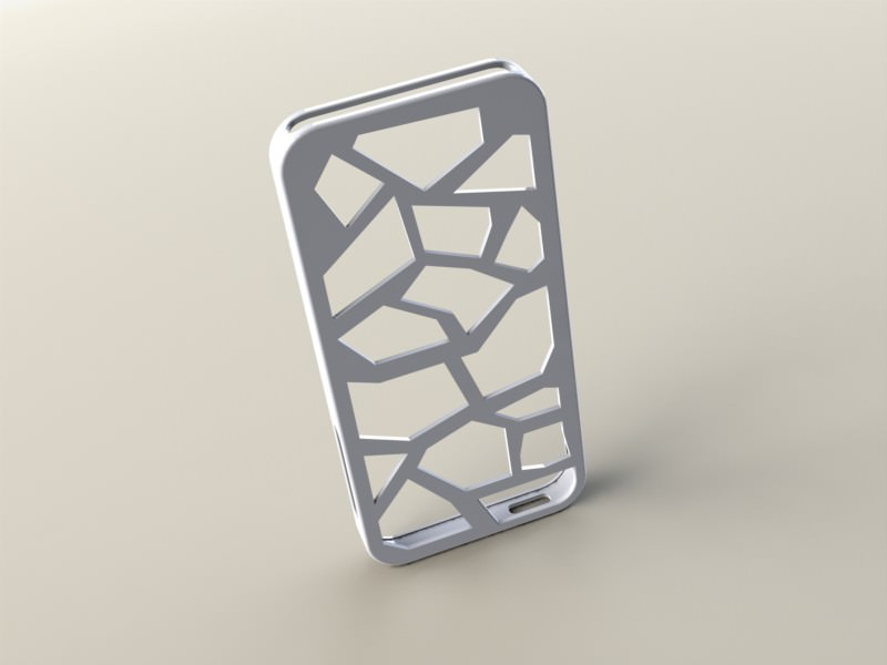 premium selection d83c7 3d29f iPhone 5 case Designer | 3D Print Model