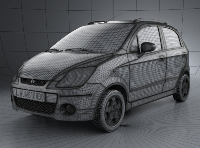Daewoo Matiz M250 2011 3D Model .max .obj .3ds .fbx .c4d .lwo .lw .lws - CGTrader.com