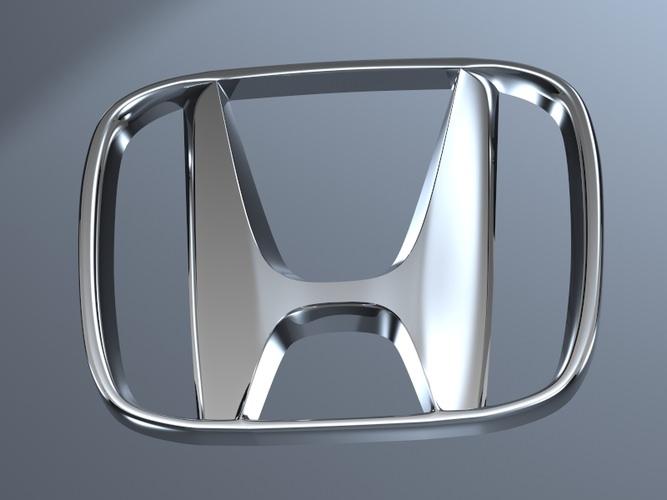 3d Model Honda Logo