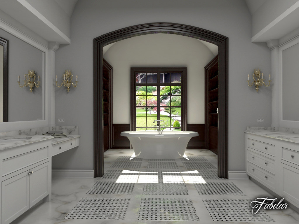 Bathroom 3d Model bathroom 3d architectural | cgtrader