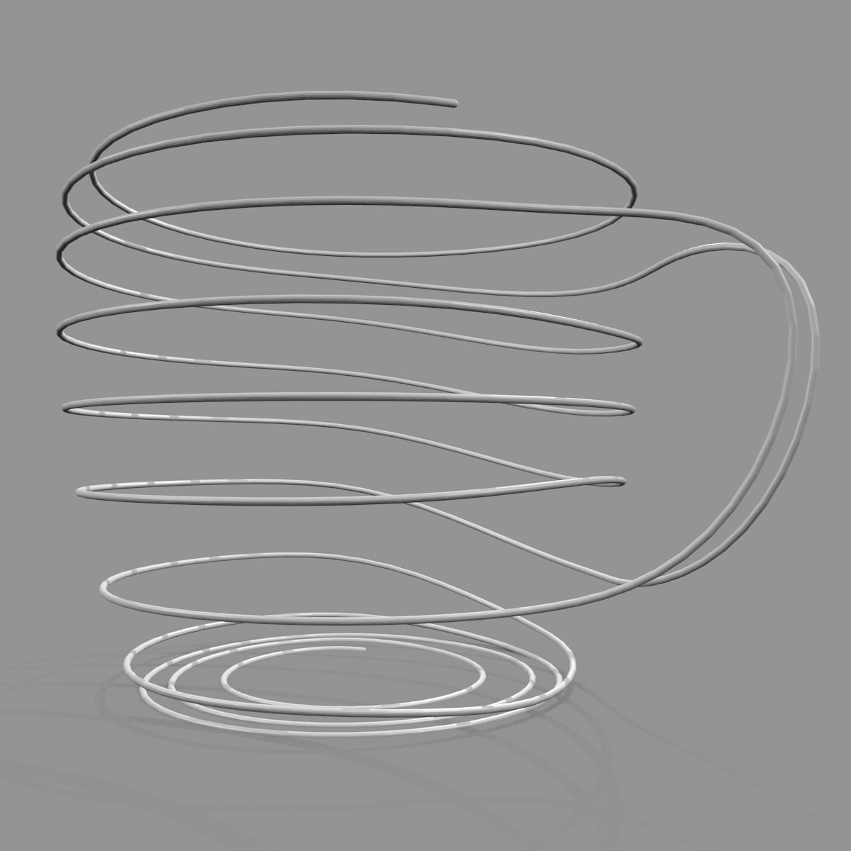 wire cup printable model free 3d model 3d printable  stl