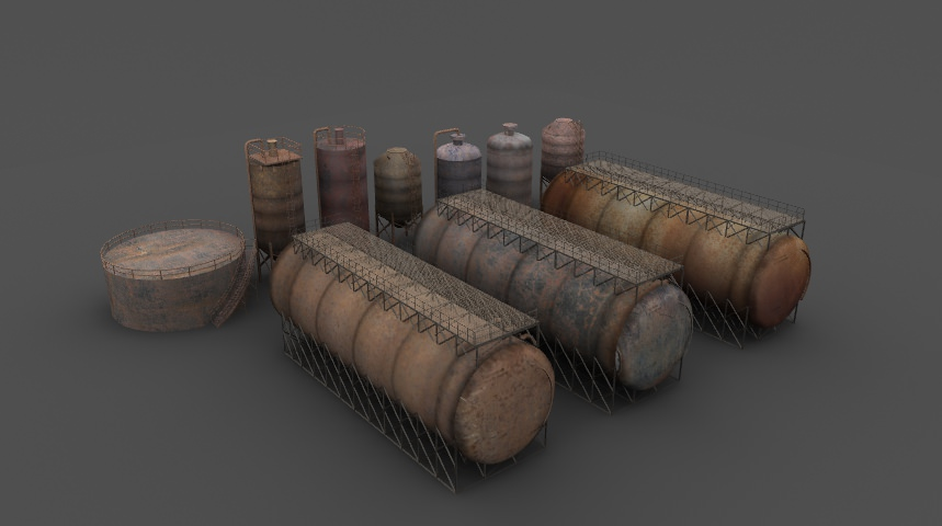 Rusty tanks