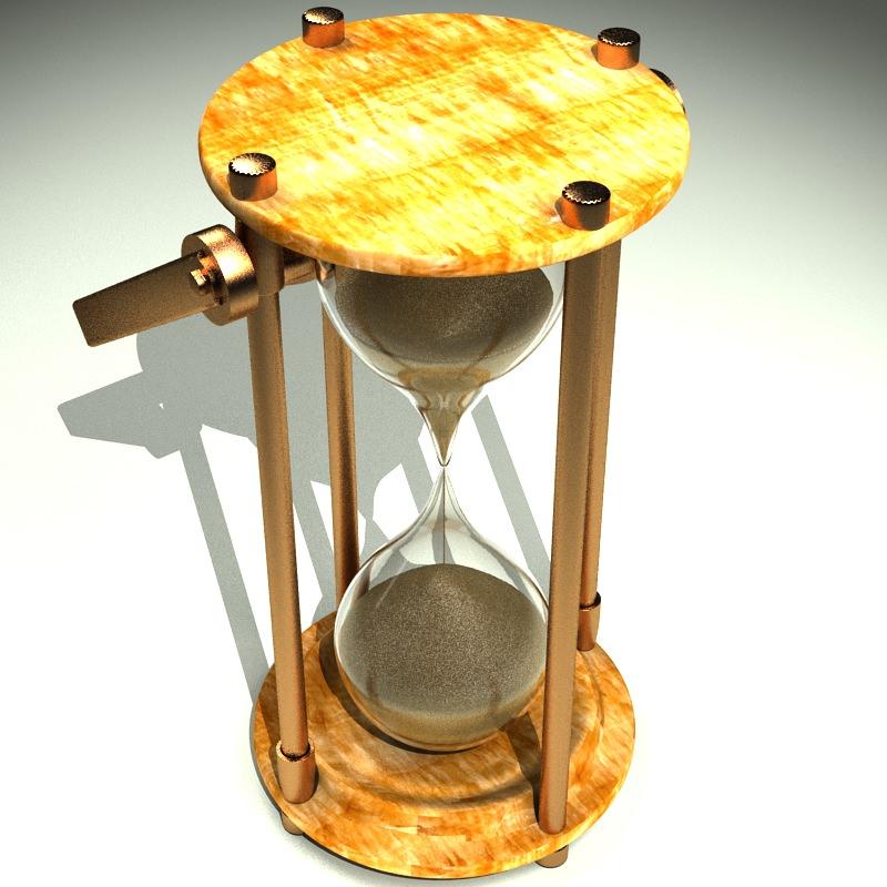 Hourglass 3D Model .max - CGTrader.com