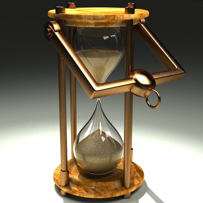 Hourglass 3D Model .max- CGTrader.com