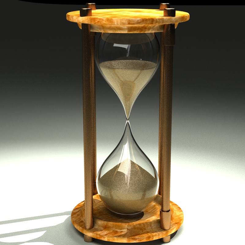 Hourglass 3D Model .max - CGTrader.com