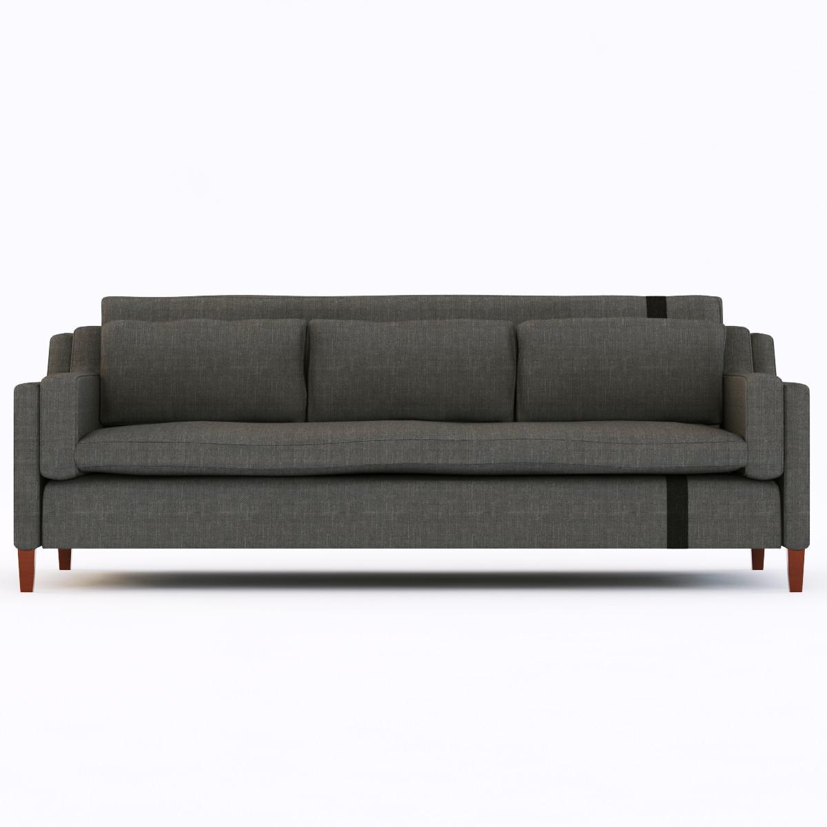 Modern sofa 8 3d models for Sofa bed 3d model