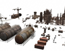 3d industrial structures