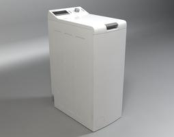 3d model washer bosch logixx 6 wot24454by