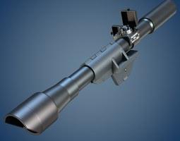 3D M84 rifle scope