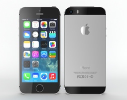 3D model Iphone 5s Black