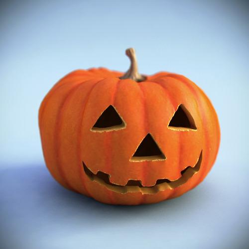 Halloween pumpkin PRINTABLE3D model