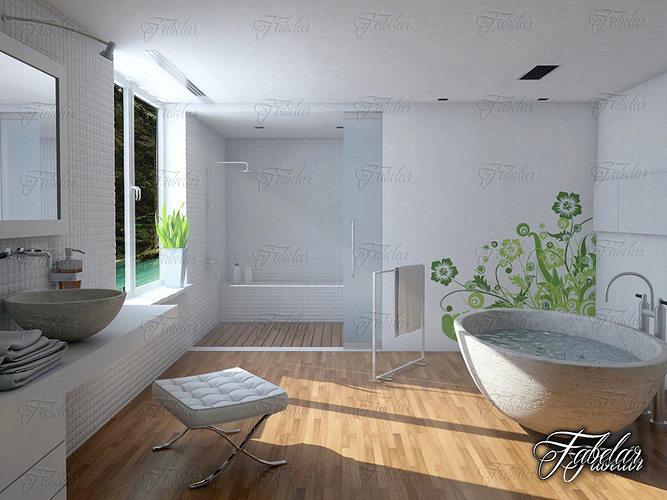 bathroom 14 3d model max obj fbx c4d 1