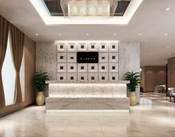 3D Models Clothing showroom interior