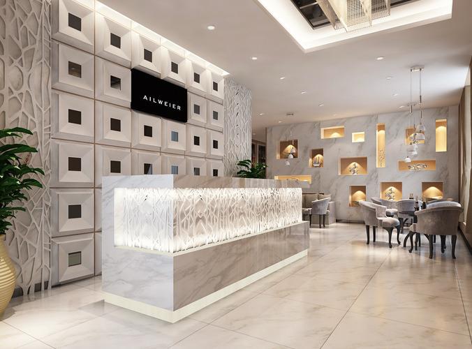 3d models clothing showroom interior 3d model max for New model interior design