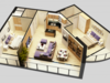 3D Model Detailed House Cutaway 3D Model