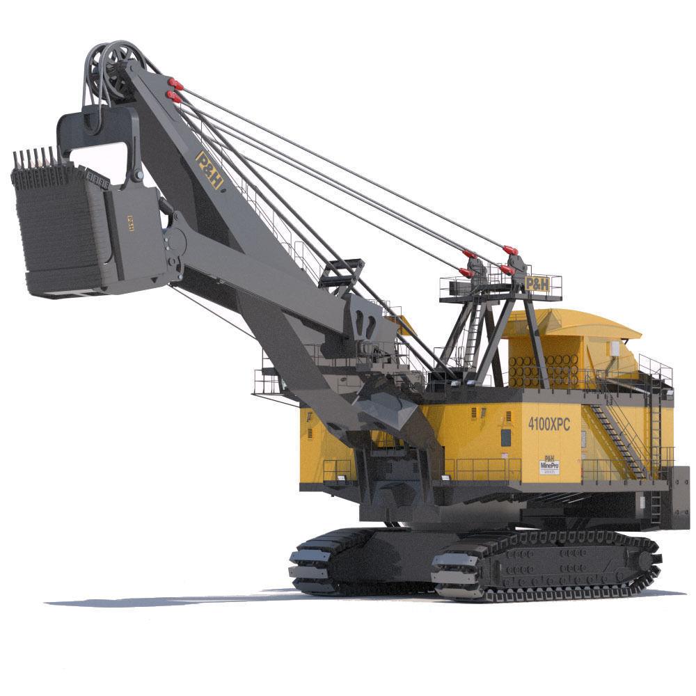 Rope Shovel P H 4100XPC