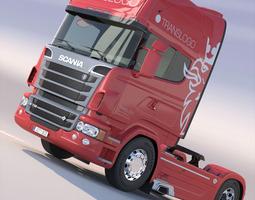 scania r 730 v8 3d model max obj 3ds fbx lwo lw lws hrc xsi