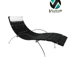 sofa 6 Eli Lounge Chair 3D Model