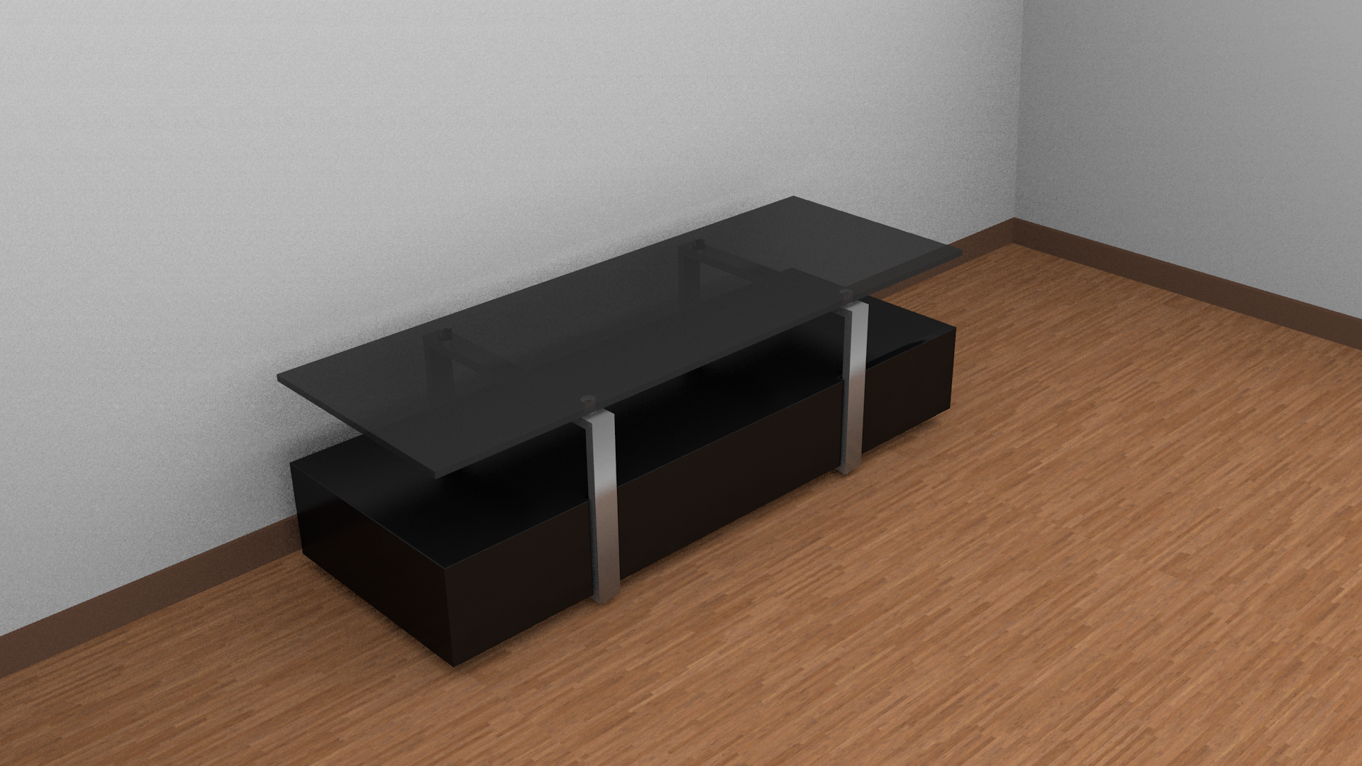 3d Model Tv Table Cgtrader # Table Televiseur