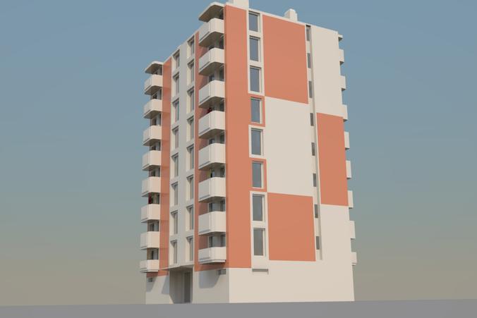 Apartment3D model
